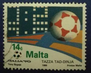 Malta Scott # 837 Used