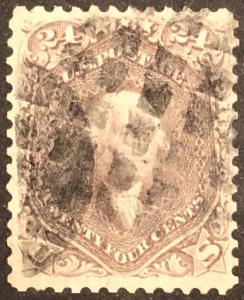 TangStamps U.S. Stamp #78 Washington Used Well Centered, Sound