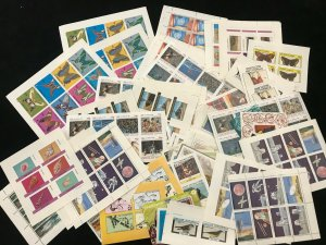 Scotland Nagaland Space Fish Shells Wildlife Trains Sheets MNH x 90 (Ad 235