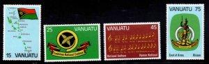 VANUATU Scott 311-314  MNH** Independence set