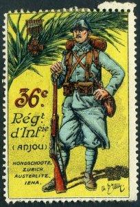WWI France 36th Infantry Regiment (36er Régiment d'Infanterie)