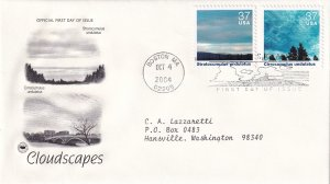 2004, Cloudscapes, PCS, FDC (E12225)