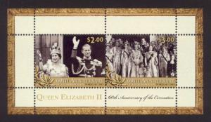 Tokelau Sc# 414a MNH 60th Anniversary of Coronation (S/S)