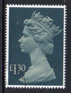 Great Britain Sc MH 170 1983 £1.30 QE II Machin Head  stamp used