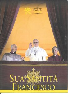 Just Fun Cover Vatican City #1501 Pope Francis 2013 Ceremony Program (my221)