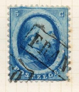 Netherlands 1864 William Early Issue Fine Used 5c. 235206