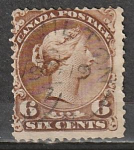 #27 Canada Used Large Queen