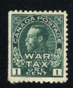 Canada #MR1   u   VF 1915 PD