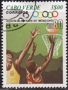 Cape Verde 405 XXII Summer Olympic Games, Moscow 1980