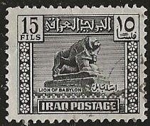Iraq   Scott # 89 - Used