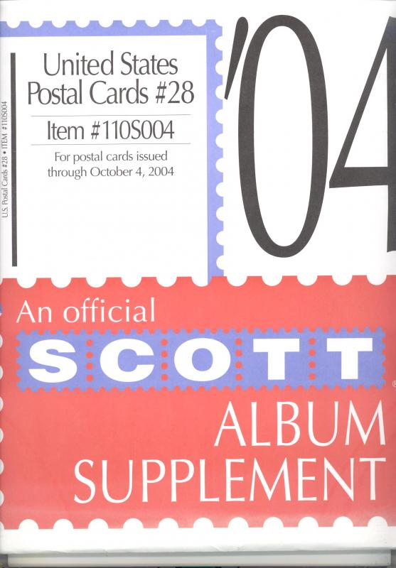 U. S. Postal Cards Supplement # 28