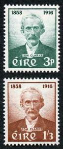 Ireland SG172/3 1958 THOMAS J. CLARKE Fresh M/Mint