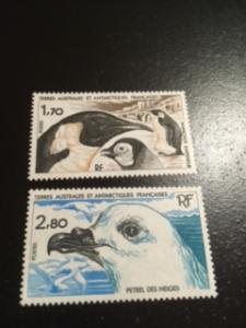 french southern & antarctic sc 114-115 MNH