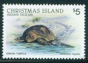 Christmas Island Stamps Scott 211 MNH** key stamp value
