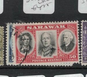 Sarawak SG 147-8 VFU (3dvq)