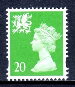 Great Britain (Wales) - Scott #WMMH70 - MNH - SCV $1.75