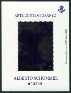 HERRICKSTAMP NEW ISSUES SPAIN Sc.# 4216 Contemporary Art Schommer S/S