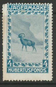 Hunting Protection Cinderella Poster Stamp Reklamemarken A7P5F852
