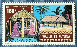Wallis and Futuna Islands C83 MNH Nativity/Christmas (SCV $7.75)