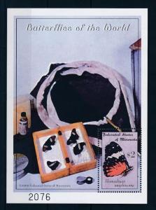 [34838] Micronesia 2000 Butterflies Schmetterlingen Papillons  MNH Sheet