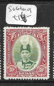 MALAYA KEDAH   (P0105BB)  30C  SG 63  MOG