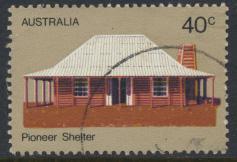 Australia  Sc# 535  Pioneer Life  House  Used