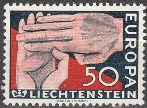 Liechtenstein #370 MNH