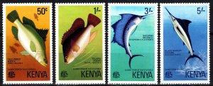 Kenya #68-71 MNH CV $3.30 (P669)