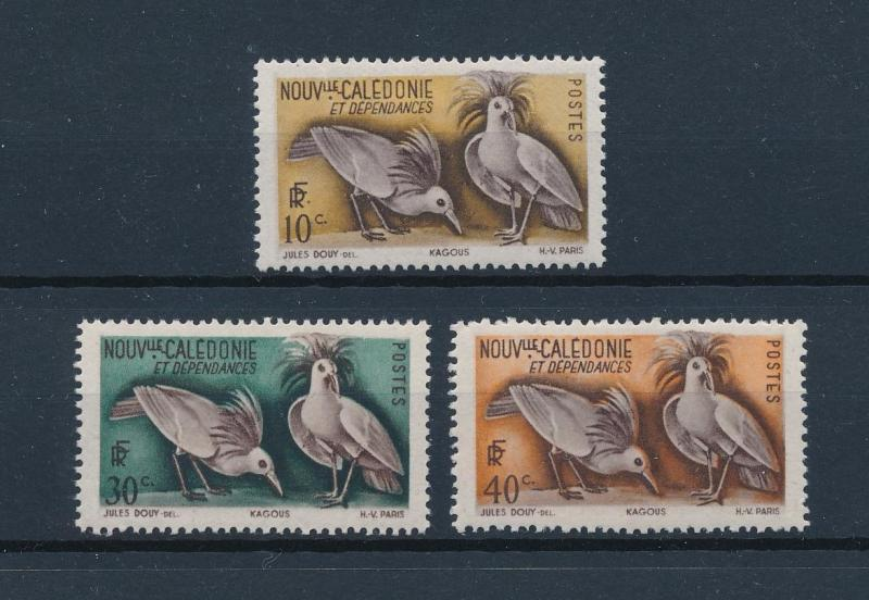 [60102] New Caledonia 1948 Birds Vögel Oiseaux Ucelli from set MLH