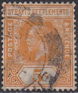 Straights Settlement 155 Hinged Used 1912 King George V