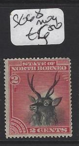 NORTH BORNEO  (PP1307B)  2C  DEER  SG 68  MOG
