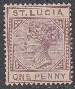 St. Lucia 29 MNH CV $7.00