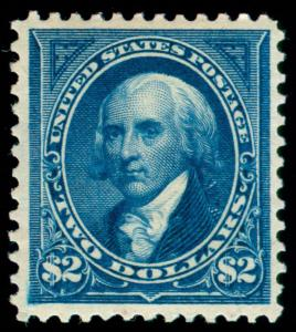 MOMEN: US STAMPS #277 MINT OG H PSE GRADED CERT VF-80