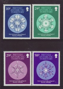 1986 Br Antarctic Terr IGS Set Unmounted Mint SG151/154