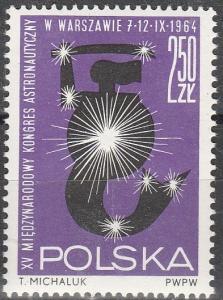 Poland #1266  MNH F-VF  (V3566L)