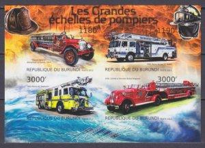2012 Burundi 2898-2901KLb History of fire trucks 15,00 €