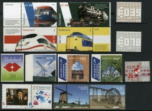 NETHERLANDS Postage Stamp Collection 2005 Mint NH