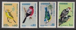 Andorra 228-31 Birds mnh