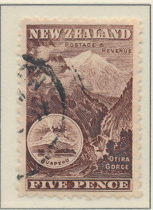 New Zealand Stamp Scott #91, Used - Free U.S. Shipping, Free Worldwide Shippi...