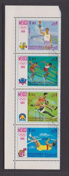 MANAMA SET OF STAMPS MNH  LOT#480