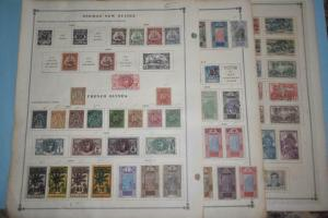 FRENCH GUINEA OLD COLLECTION DR SCHULTZ ESTATE ! Z976