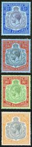 Bermuda SG88/93 High Value Set of 4 Wmk Script M/Mint