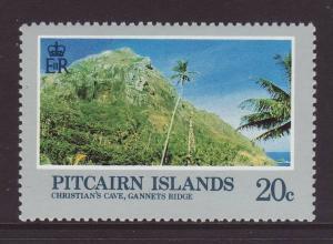 1981 Pitcairn Is 20c Christians Cave U/M