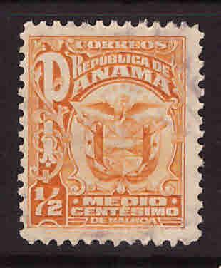 Panama  Scott 234 Used  coat of arms stamp