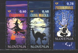Slovenia. 2018. a series. Tales and legends of Slovenia. MNH.