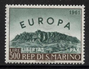 San Marino 1961 500L Europa Sc# 490 NH