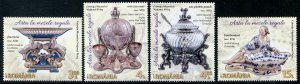 HERRICKSTAMP NEW ISSUES ROMANIA Sc.# 6013-16 Art in Royal Dining
