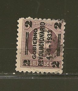 Cuba 318 Surcharged 1933 Used