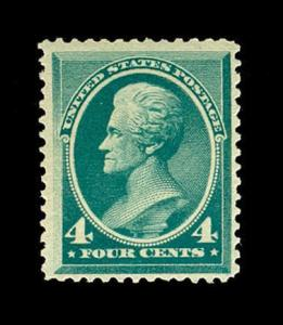 momen: US Stamps #211 Mint OG NH F/VF PSE Cert