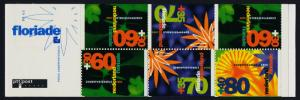 Netherlands B664b Booklet MNH Floriade, Horticultural Exhibition, Flowers